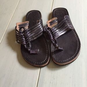 Bed Stu Riley Leather Thong Sandal